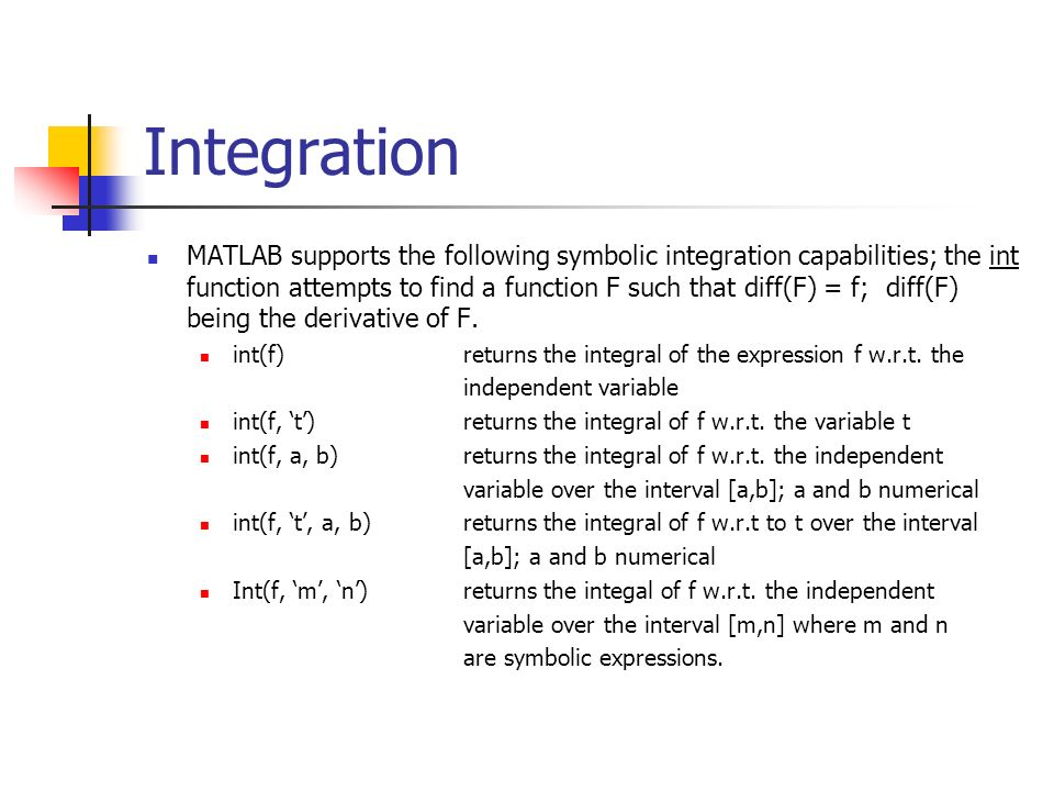 Chapter 12 Review: Symbolic Mathematics - ppt video online