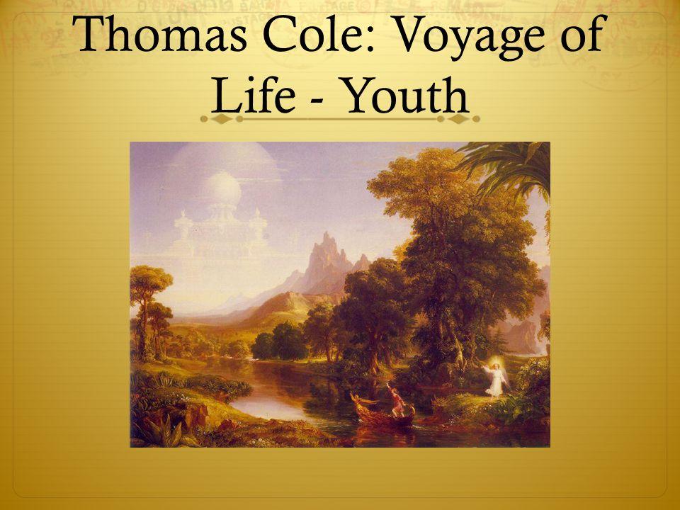 thomas cole voyage of life analysis