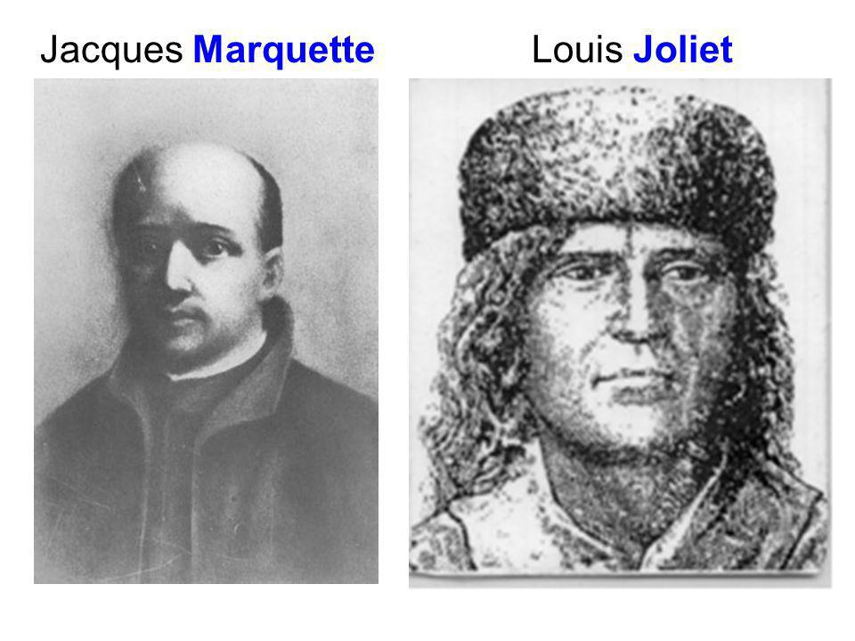Resultado de imagen para Fotos de Jacques Marquette y Louis Jolliet