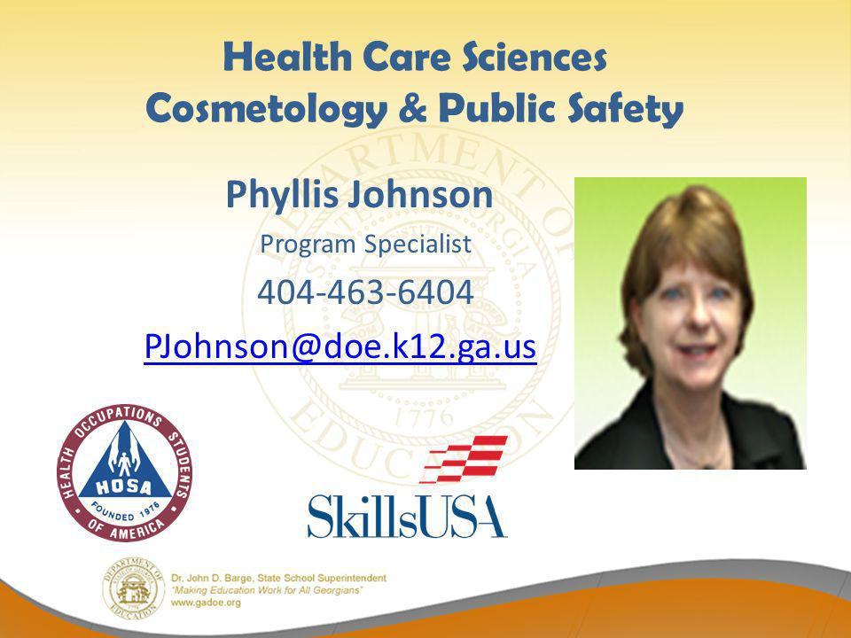 Health Care Sciences Cosmetology & Public Safety