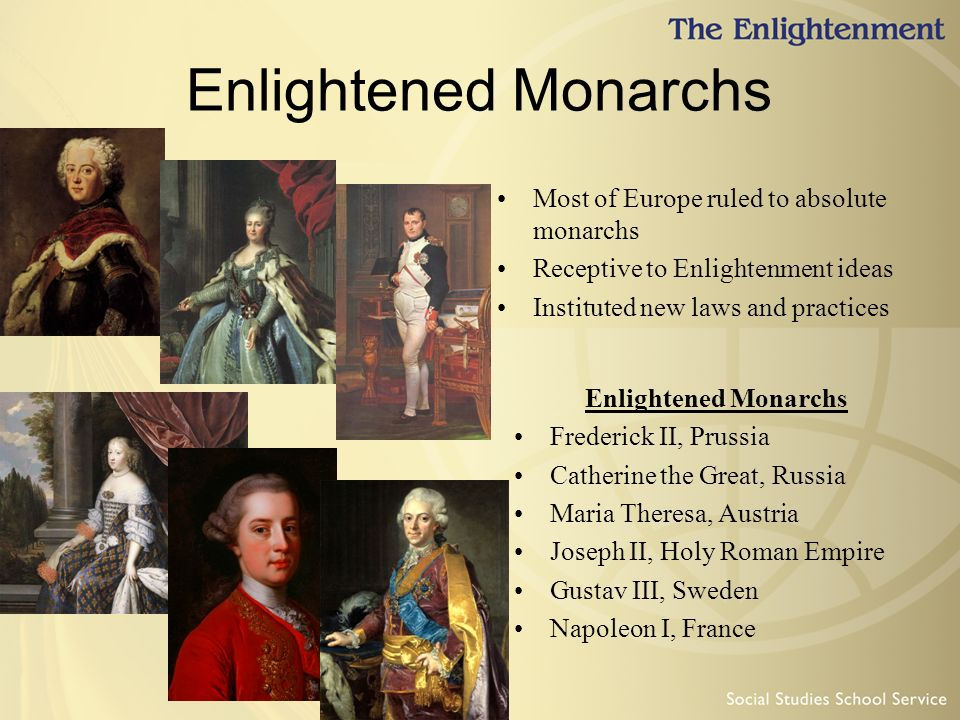 enlightened monarchs