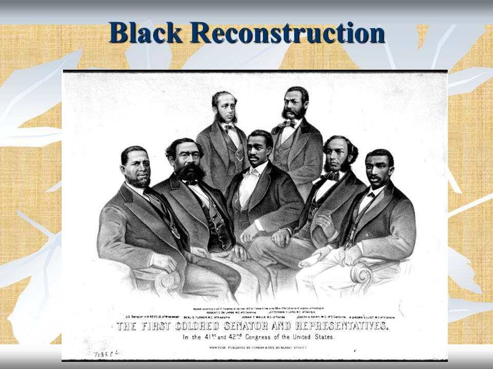 Black Reconstruction