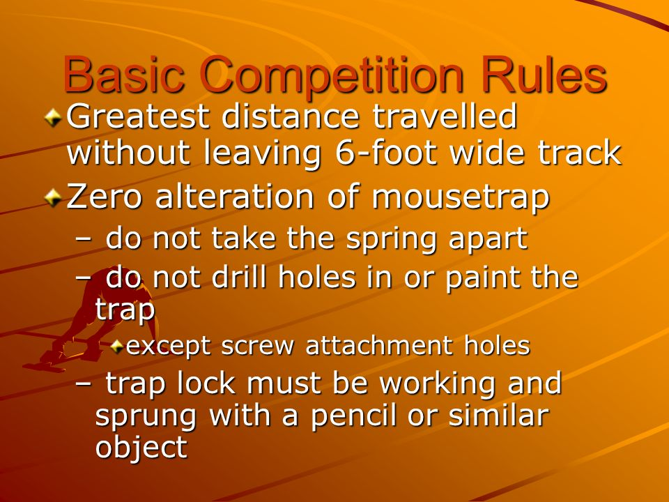 Basic Competition Rules
