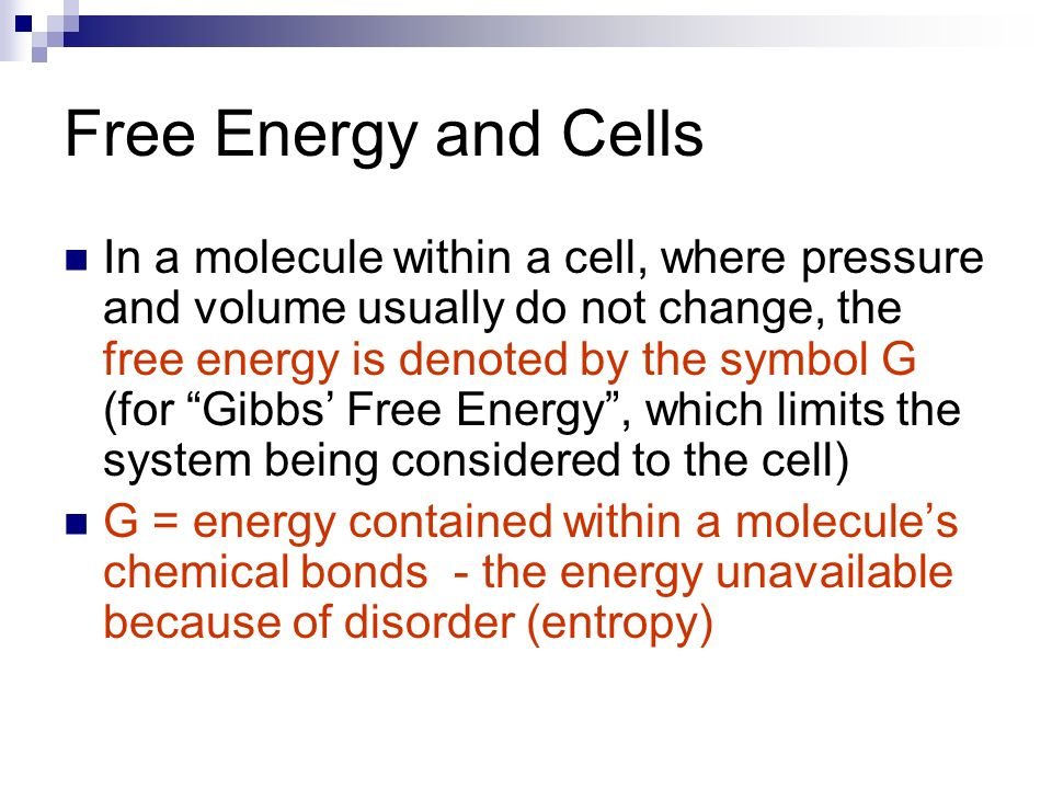 Free Energy And Chemical Reactions Ppt Download