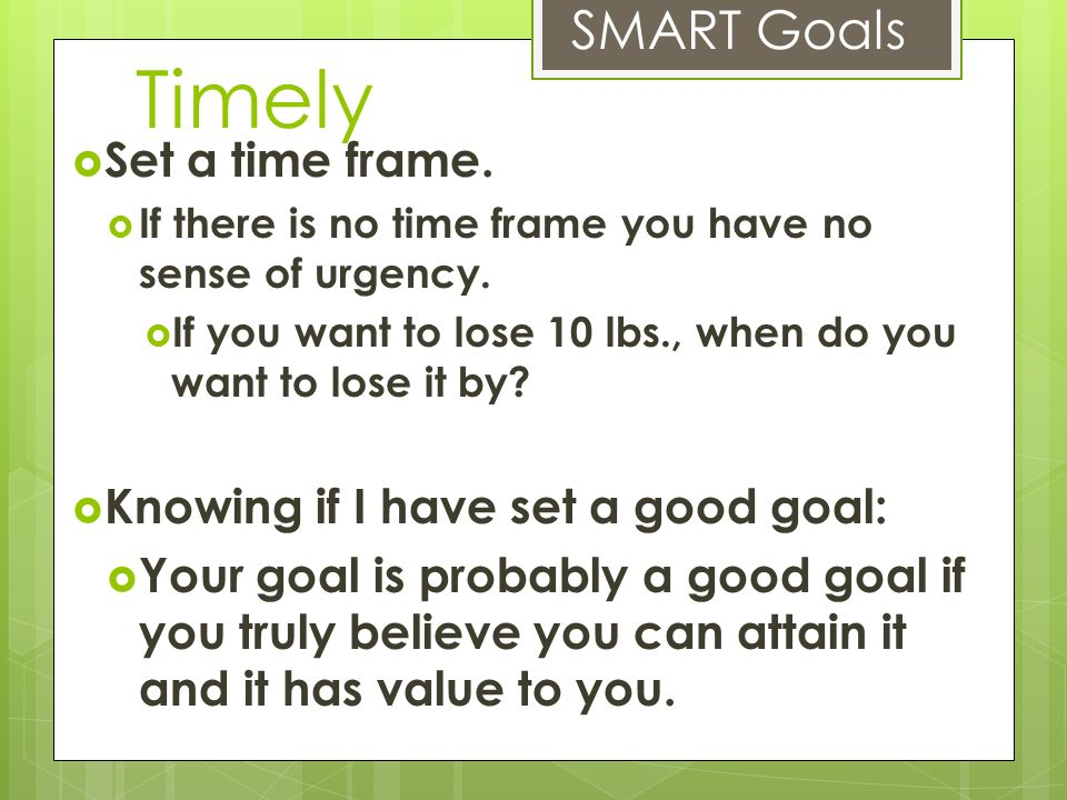 Goals and Steps. - ppt video online download