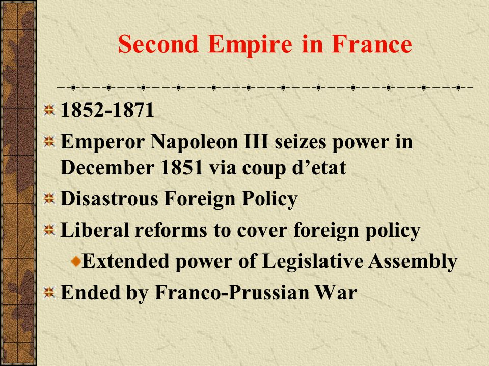 Second Empire in France
