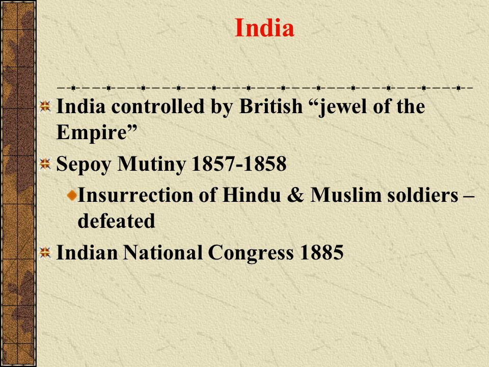 India India controlled by British jewel of the Empire