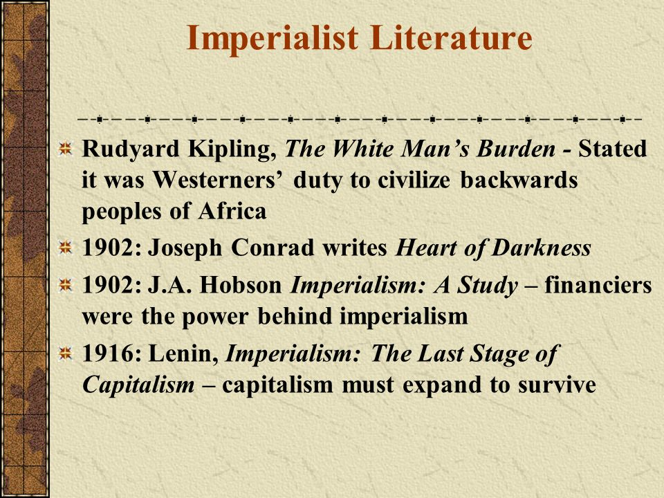 Imperialist Literature