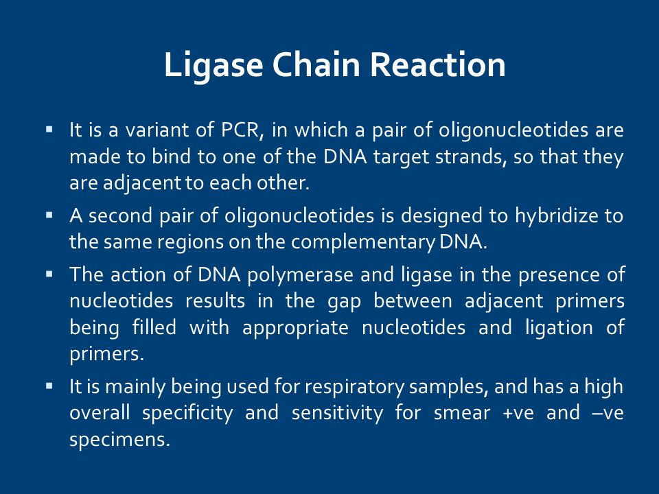 Ligase Chain Reaction