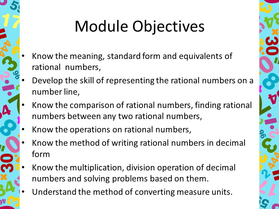 Rational Numbers Mathematics Grade Ppt Video Online Download