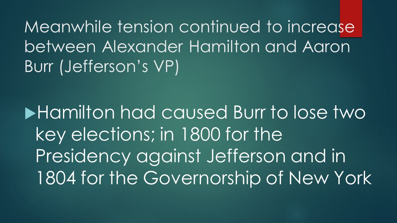 the conflicting views between thomas jefferson and alexander hamilton Jefferson and hamilton remained political rivals after serving in president george washington's first cabinet as a fellow federalist, hamilton backed adams according to hamilton biographer ron chernow, hamilton wrote 25 essays as phocion in the gazette between oct.