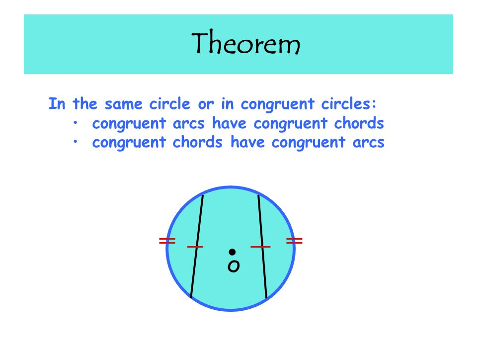 Geometry 94 Arcs And Chords Ppt Video Online Download