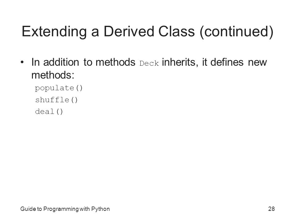 Guide to Programming with Python - ppt video online download