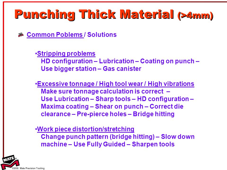 Basic Punching Theory  - ppt video online download