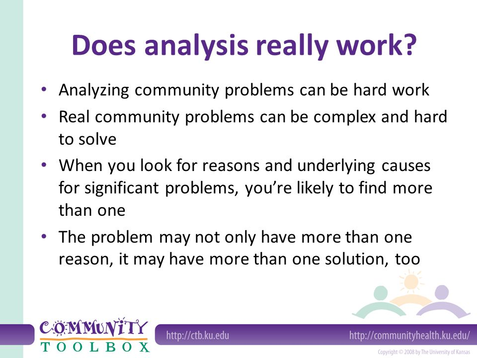 community problems and their solutions