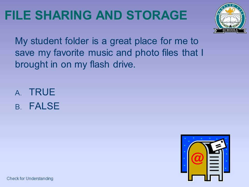 FILE SHARING AND STORAGE