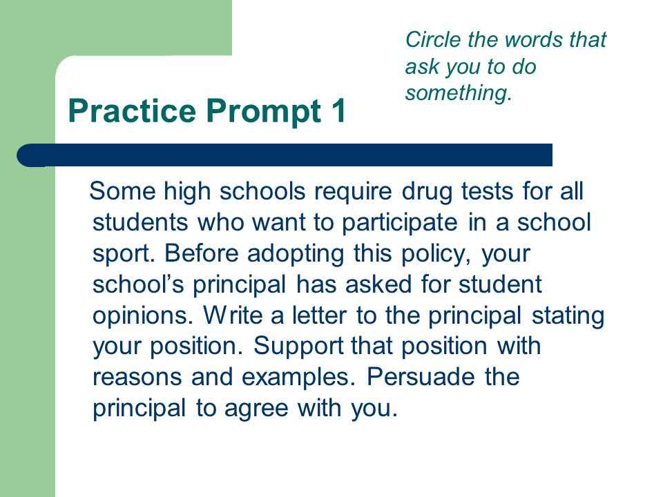 Attacking the Writing Prompt - ppt download