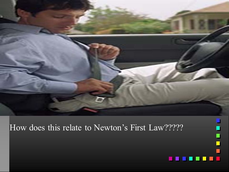 How does this relate to Newton's First Law