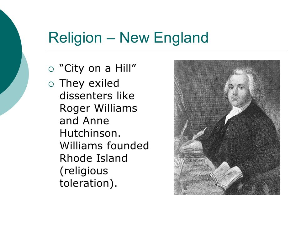 Religion – New England City on a Hill
