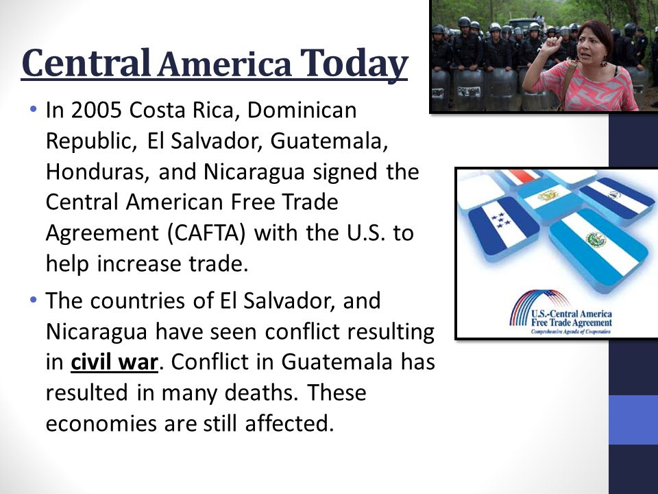 Chapter 8 Section 2 Central America Ppt Download