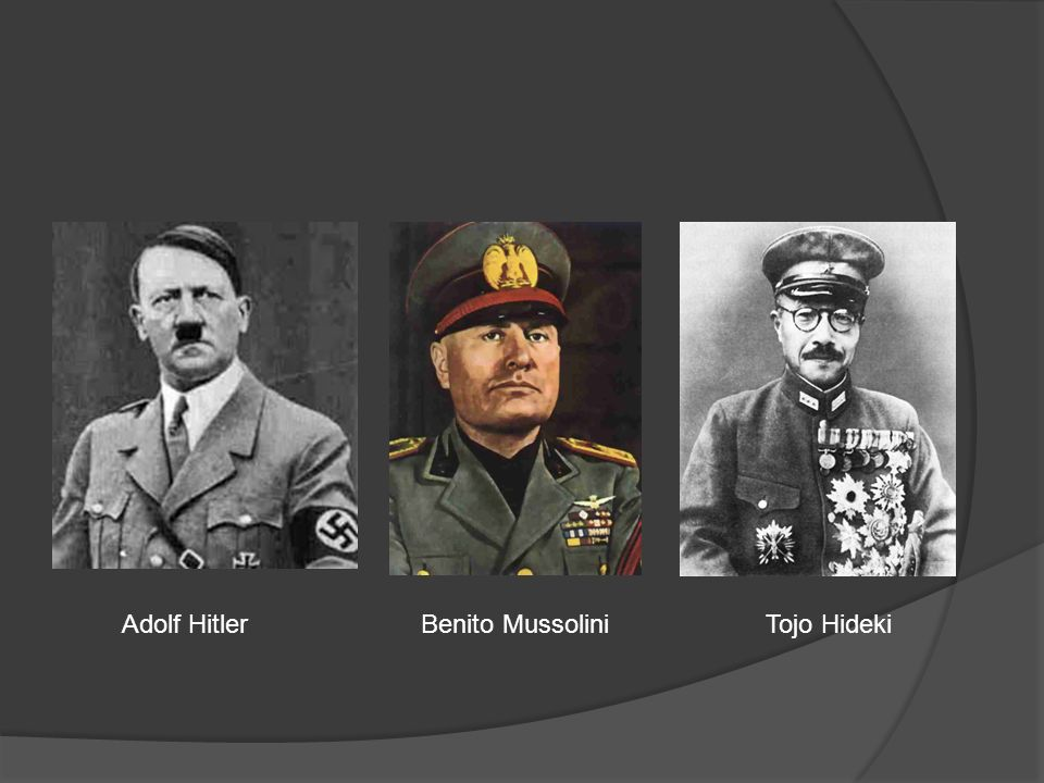 Adolf hitler and benito mussolini that can