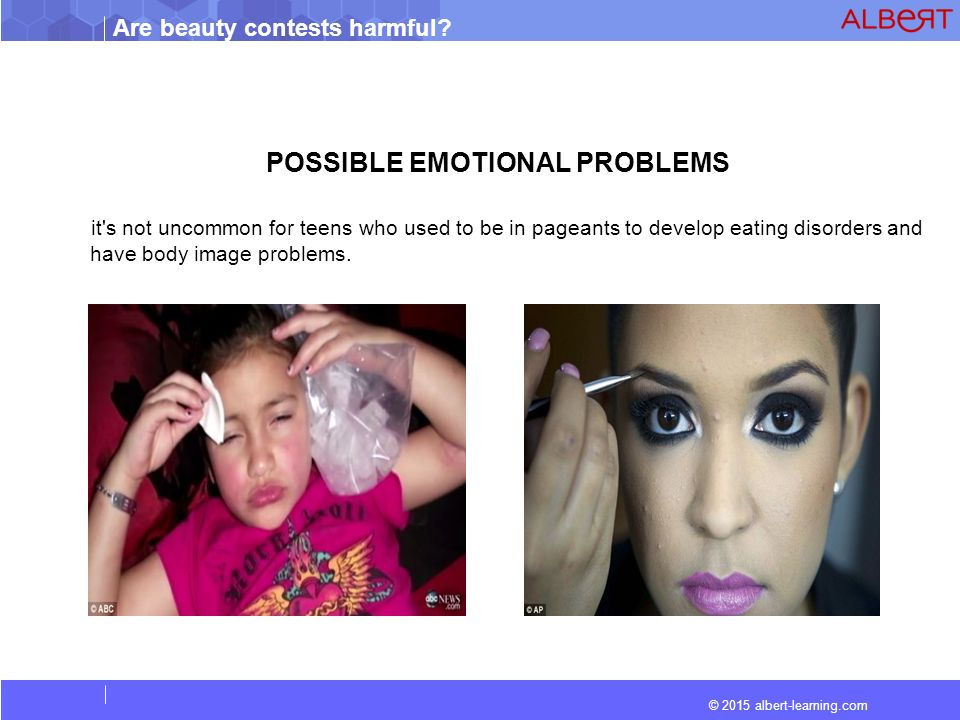 beauty pageants are not harmful