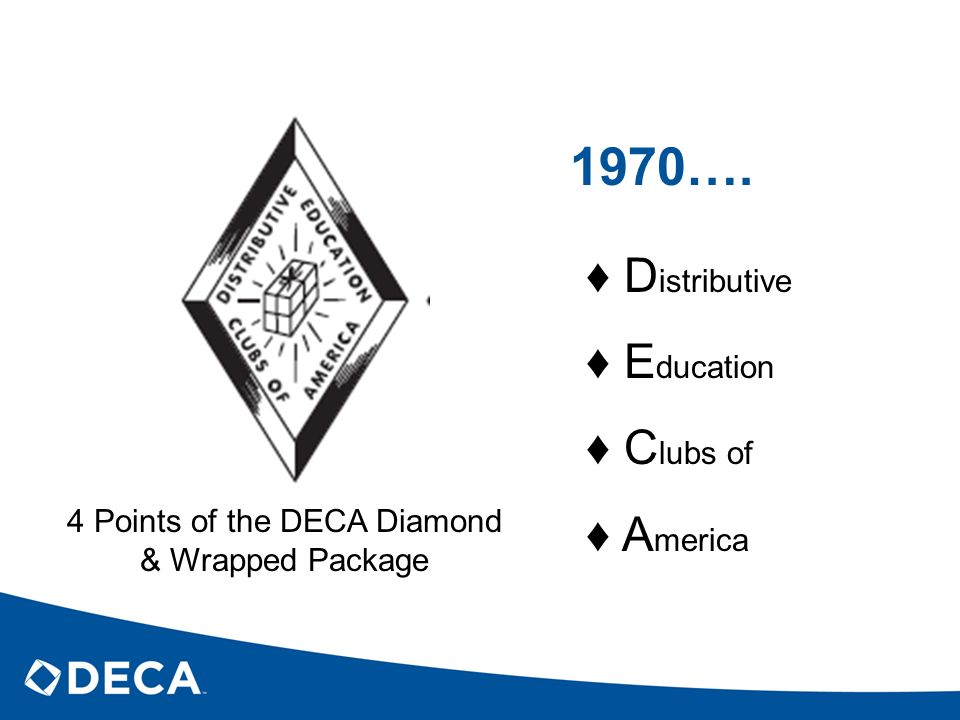 4 Points of the DECA Diamond & Wrapped Package