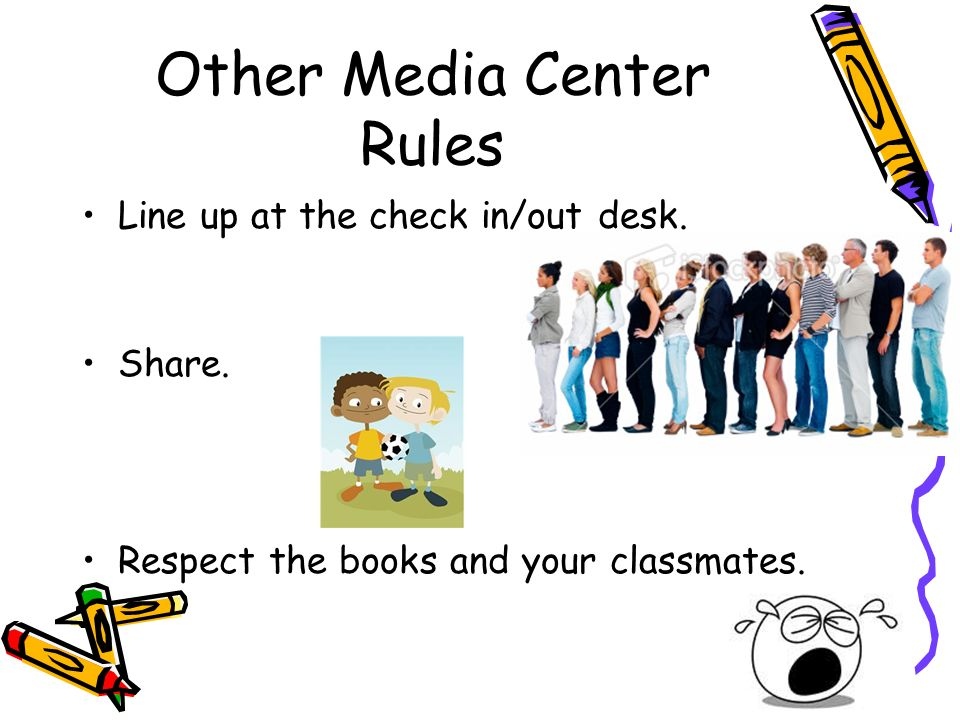 Other Media Center Rules