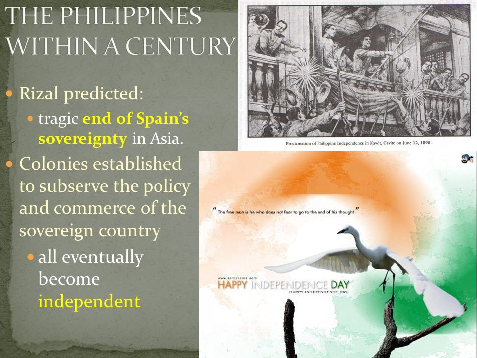 THE PHILIPPINES WITHIN A CENTURY