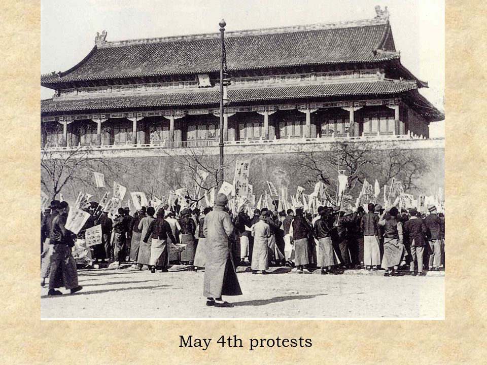 May 4th protests