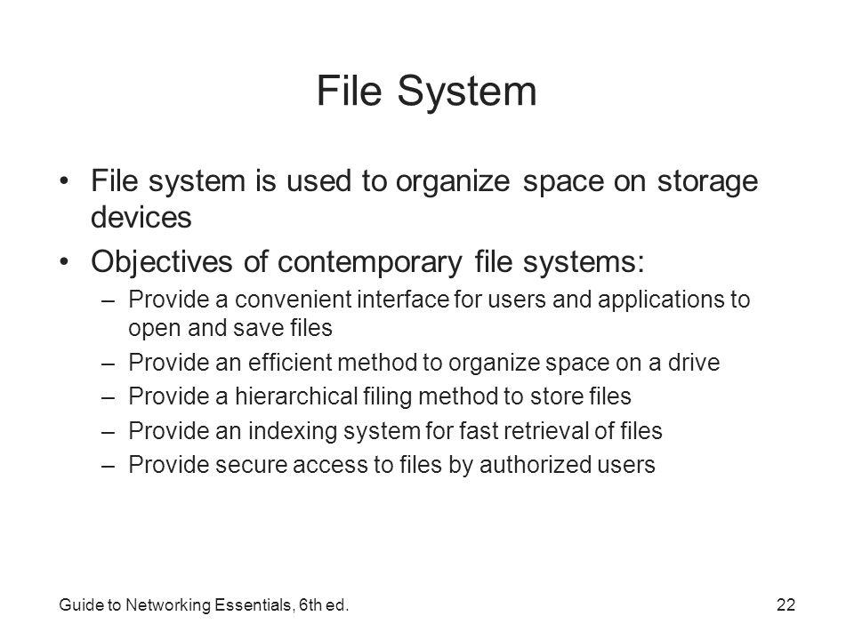 guide to networking essentials 6th ed ppt download rh slideplayer com Storage Essentials Soup Mugs Storage Home Essentials Collection