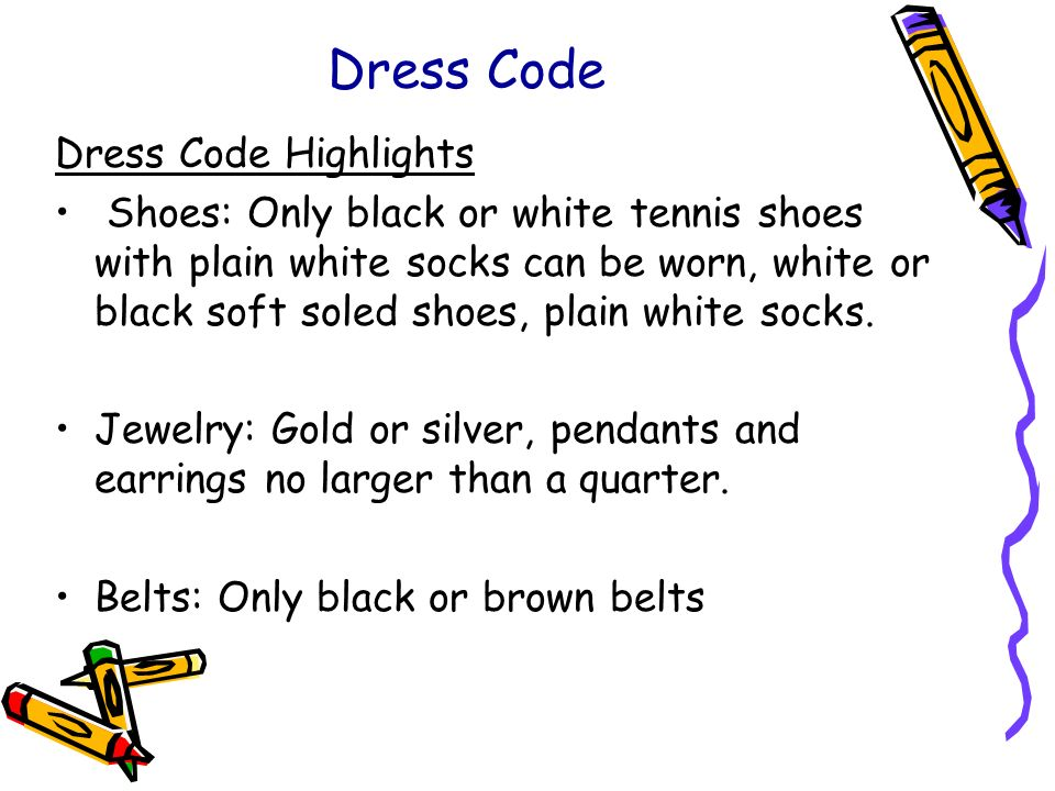 Dress Code Dress Code Highlights
