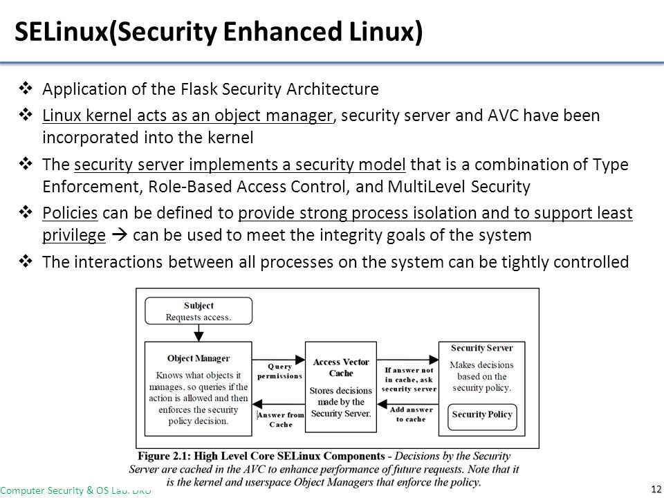 Using the Flask Security Architecture to Facilitate Risk