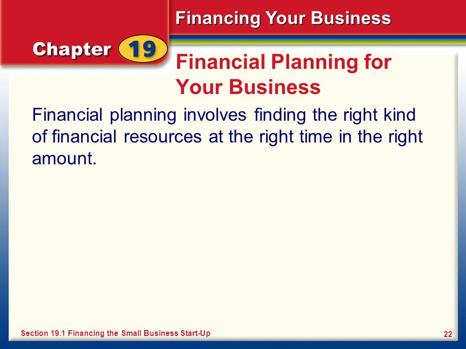 Financial Planning for Your Business