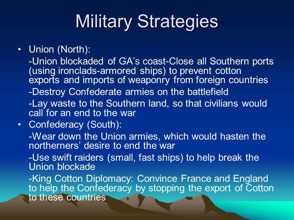 Military Strategies Union (North):