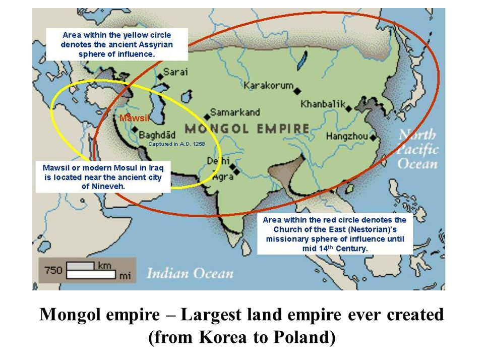 how did the mongols create the worlds largest land empire