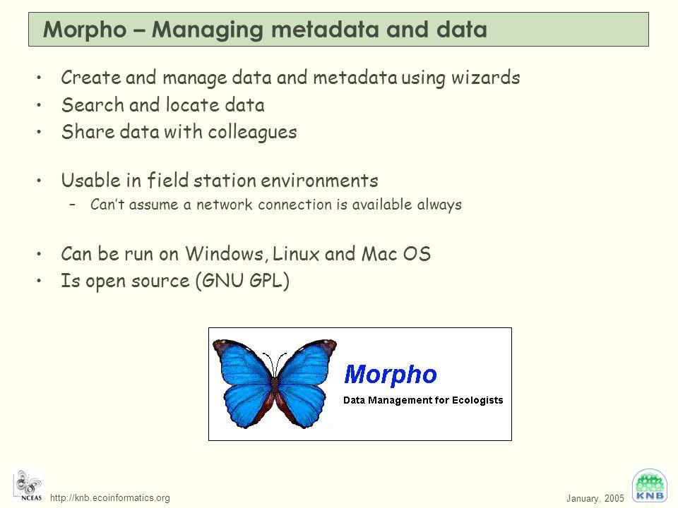 Ecological Metadata Language (EML) and Morpho - ppt video