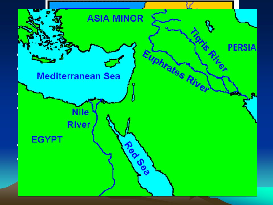 Map of Abrams Journey from Ur to Haran to Egypt The Bible shifts its focus in Genesis 12 from the history of the entire human race to a man named Abram the