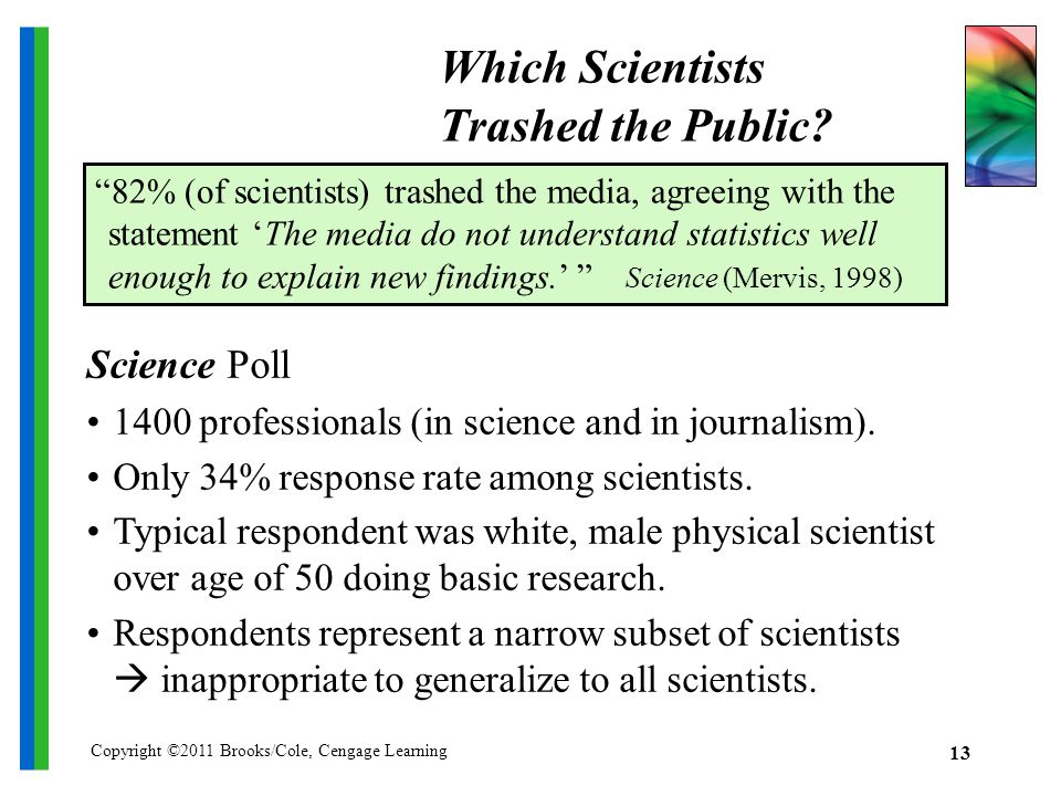 Which Scientists Trashed the Public