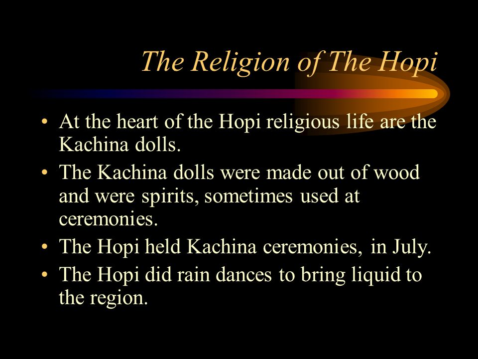The Religion of The Hopi