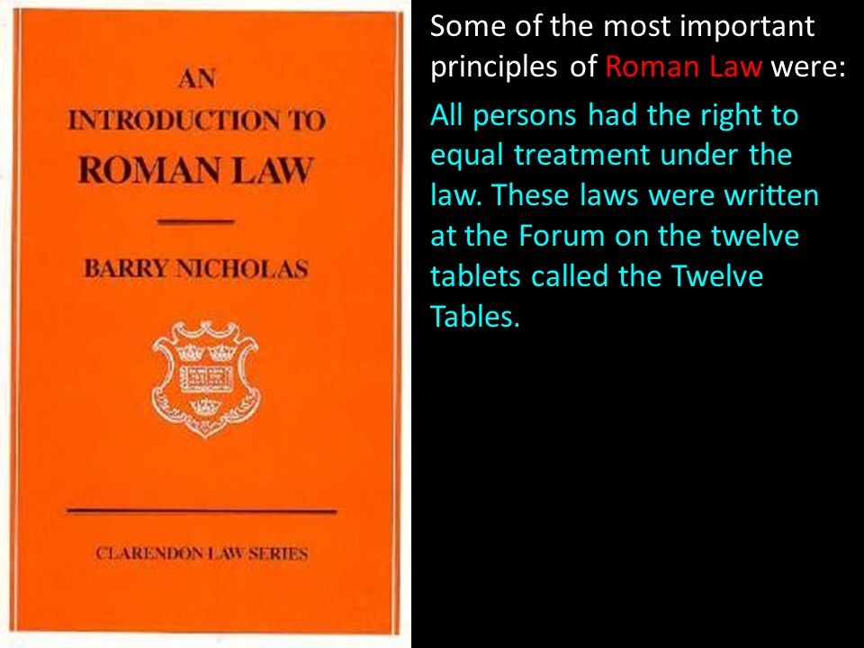 an introduction to roman law clarendon law series