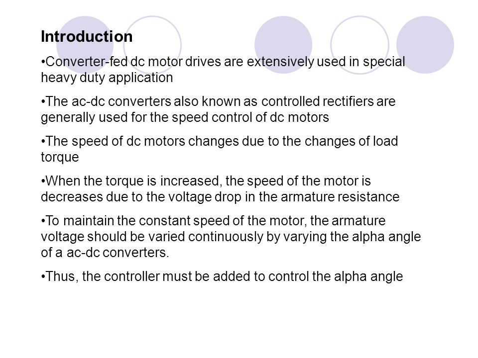 Final year project Analysis and simulation of a converter