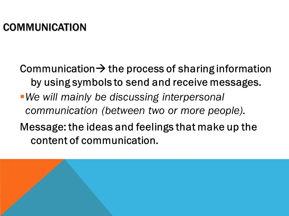 Different Settings For Communication Ppt Video Online Download