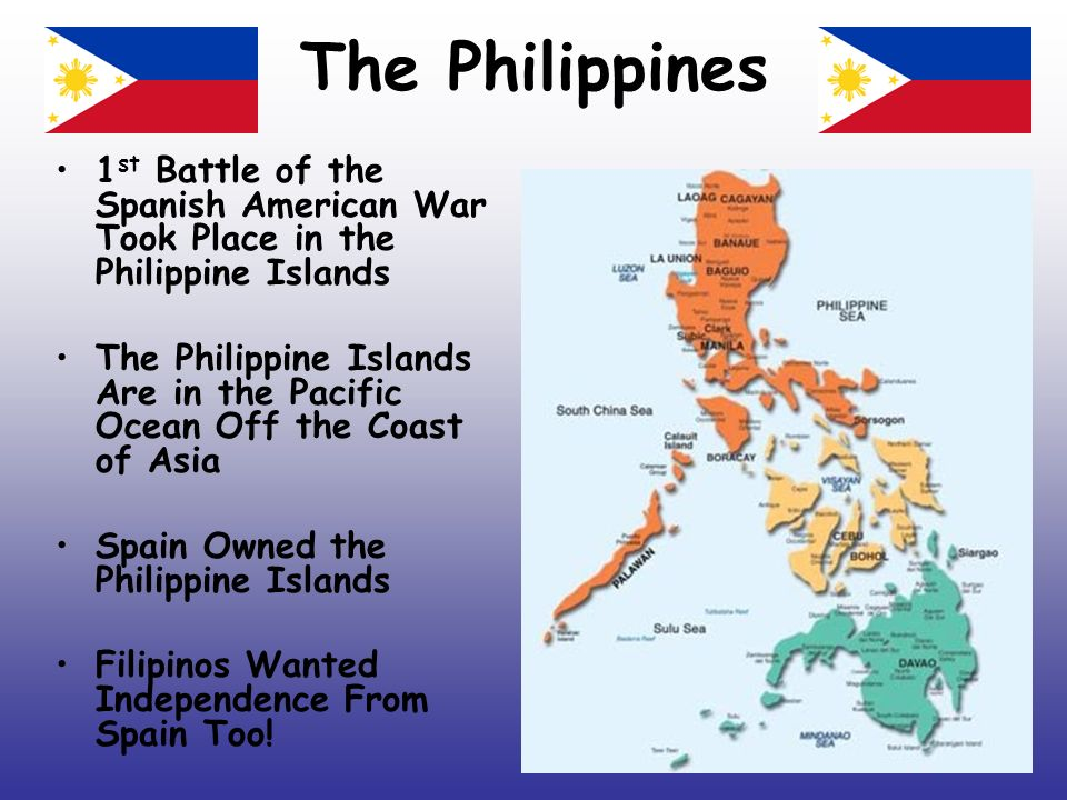 Spanish American War Philippines Map.The Spanish American War Becoming A World Power Ppt Video