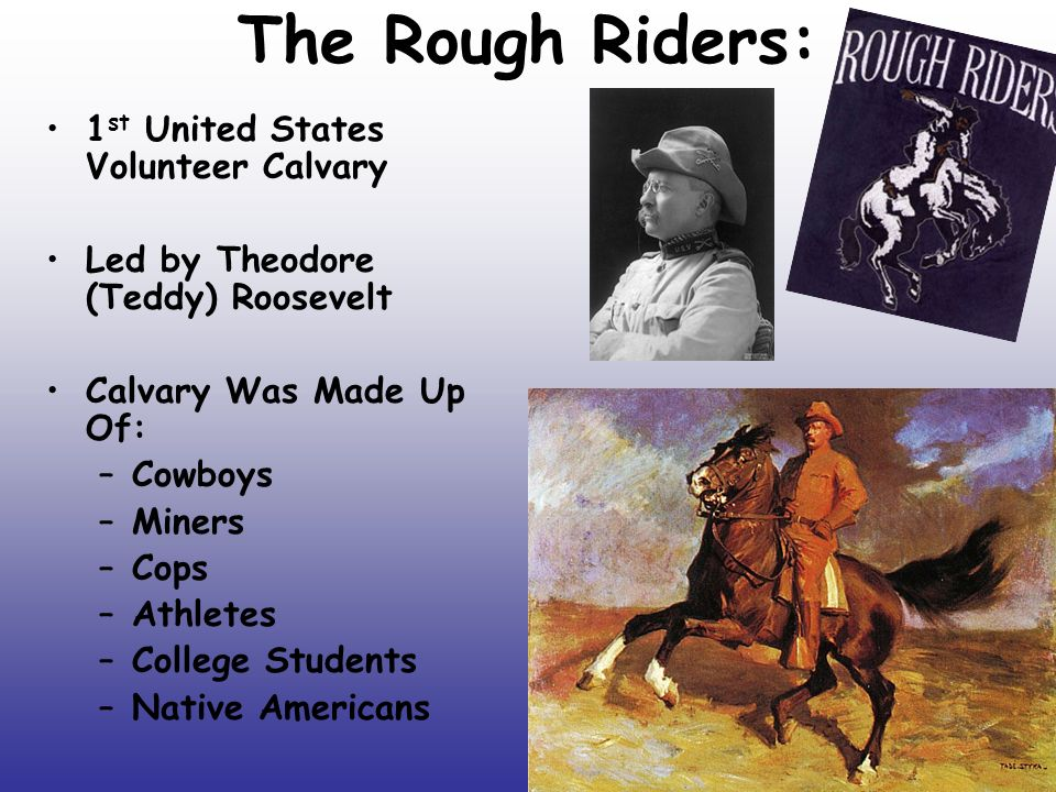 rough riders definition