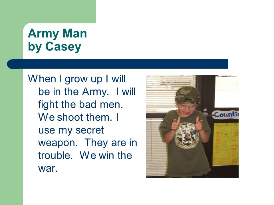 Army Man by Casey