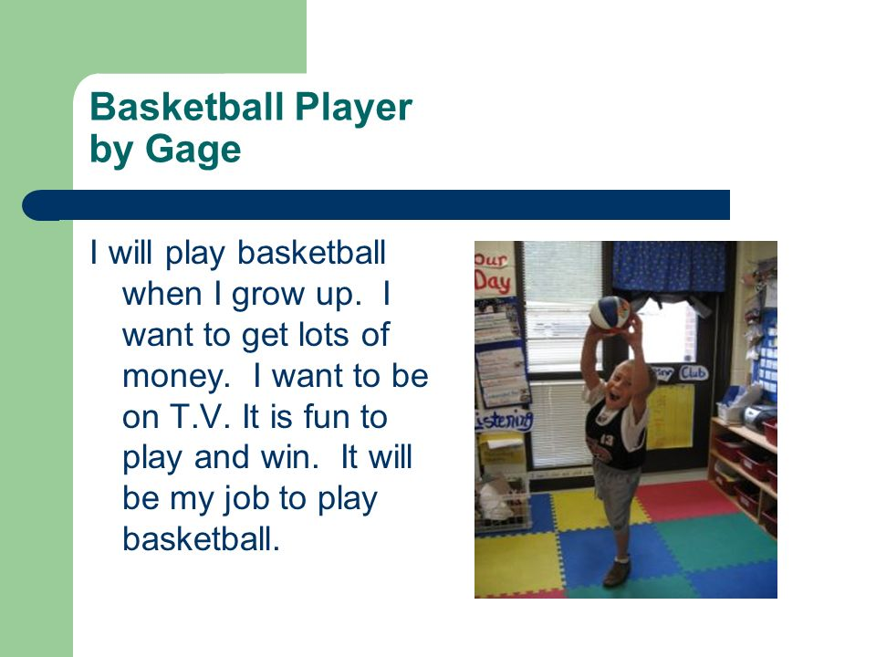 Basketball Player by Gage