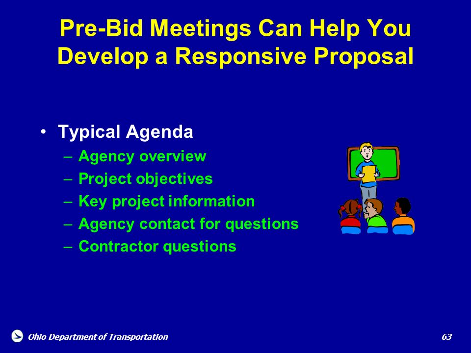 Pre-Bid Meetings Can Help You Develop a Responsive Proposal