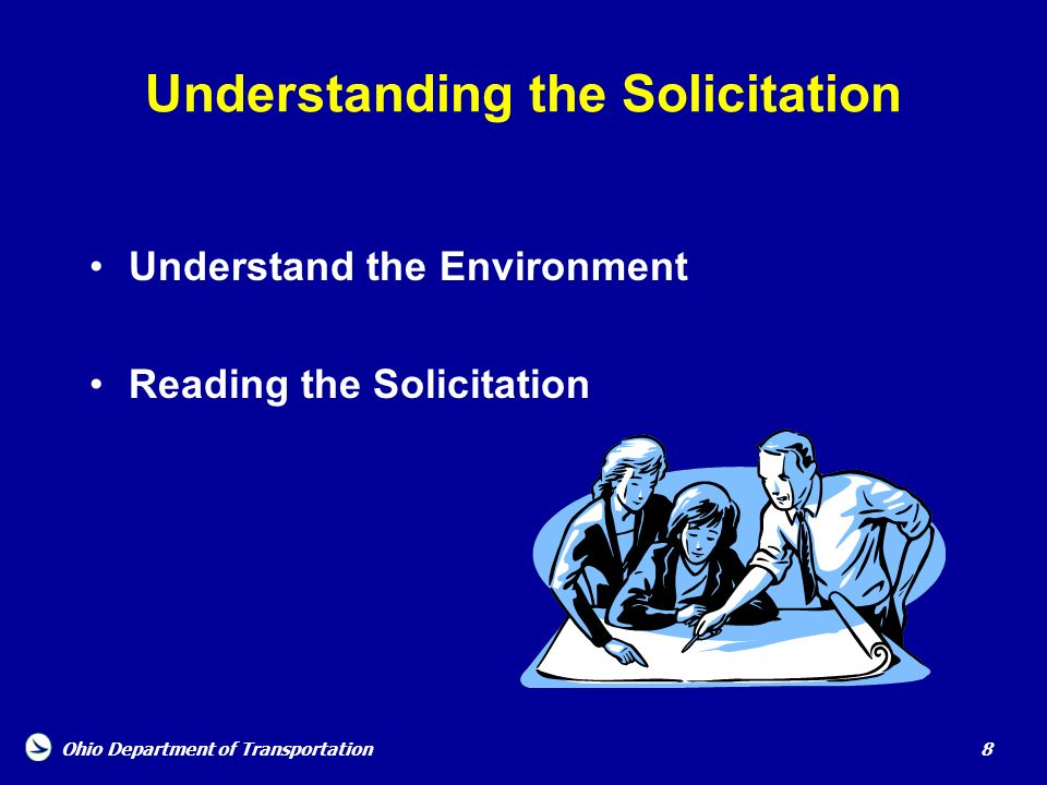Understanding the Solicitation