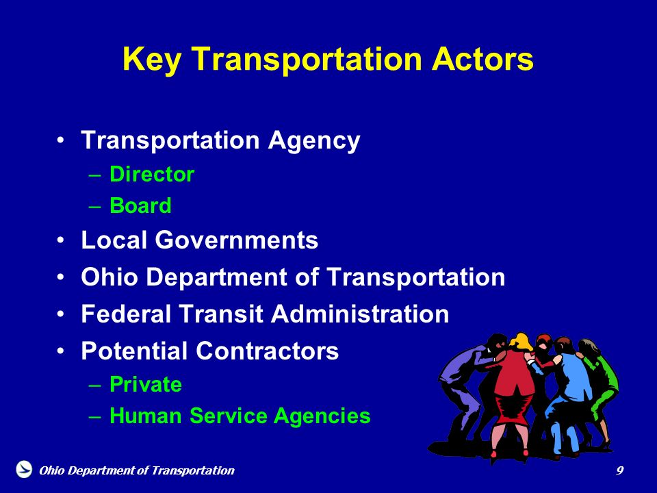 Key Transportation Actors